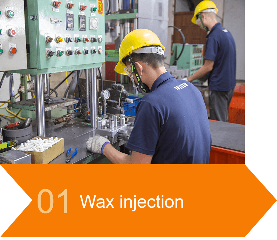 Wax injection